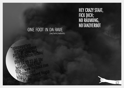 1 Foot in da Rave Releaseparty